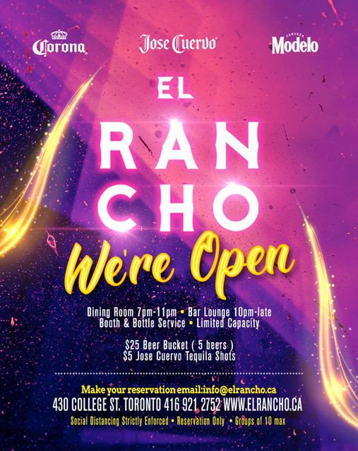 El Rancho - We're Open